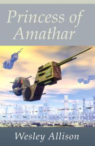 Princess of Amathar back on Kindle